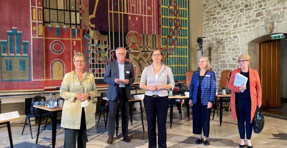 Sylvia Löhrmann beim Kulturausschuss des deutschen Städtetages