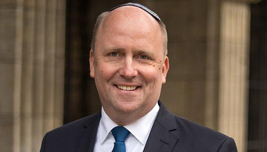 Beauftragter für jüdisches Leben Uwe Becker